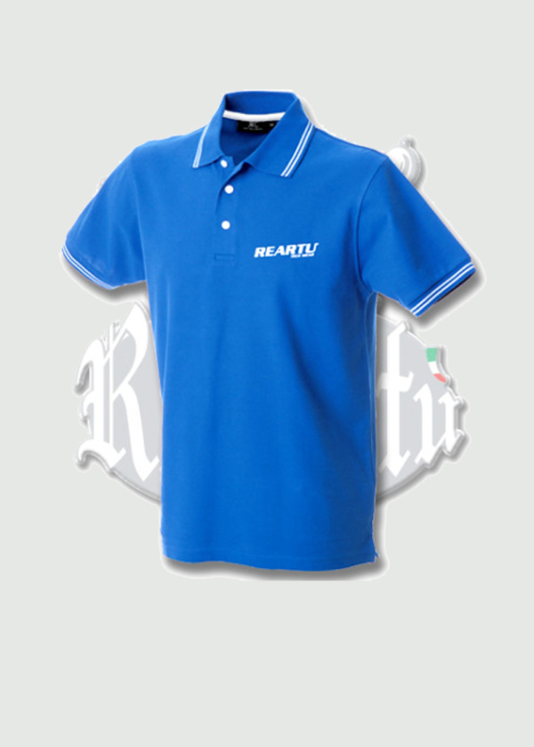 Customizable short sleeve polo shirt-re-artu-1