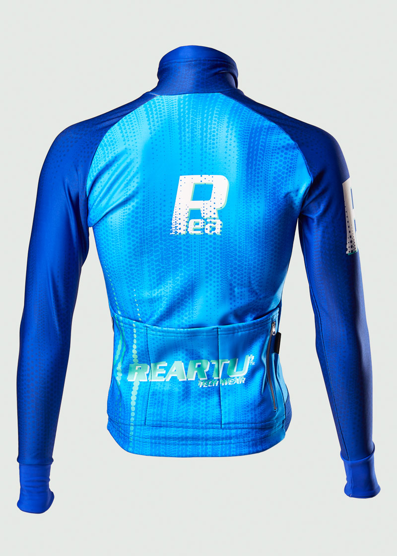 ReArtu Padded Blue Waves Event®Jacket 2