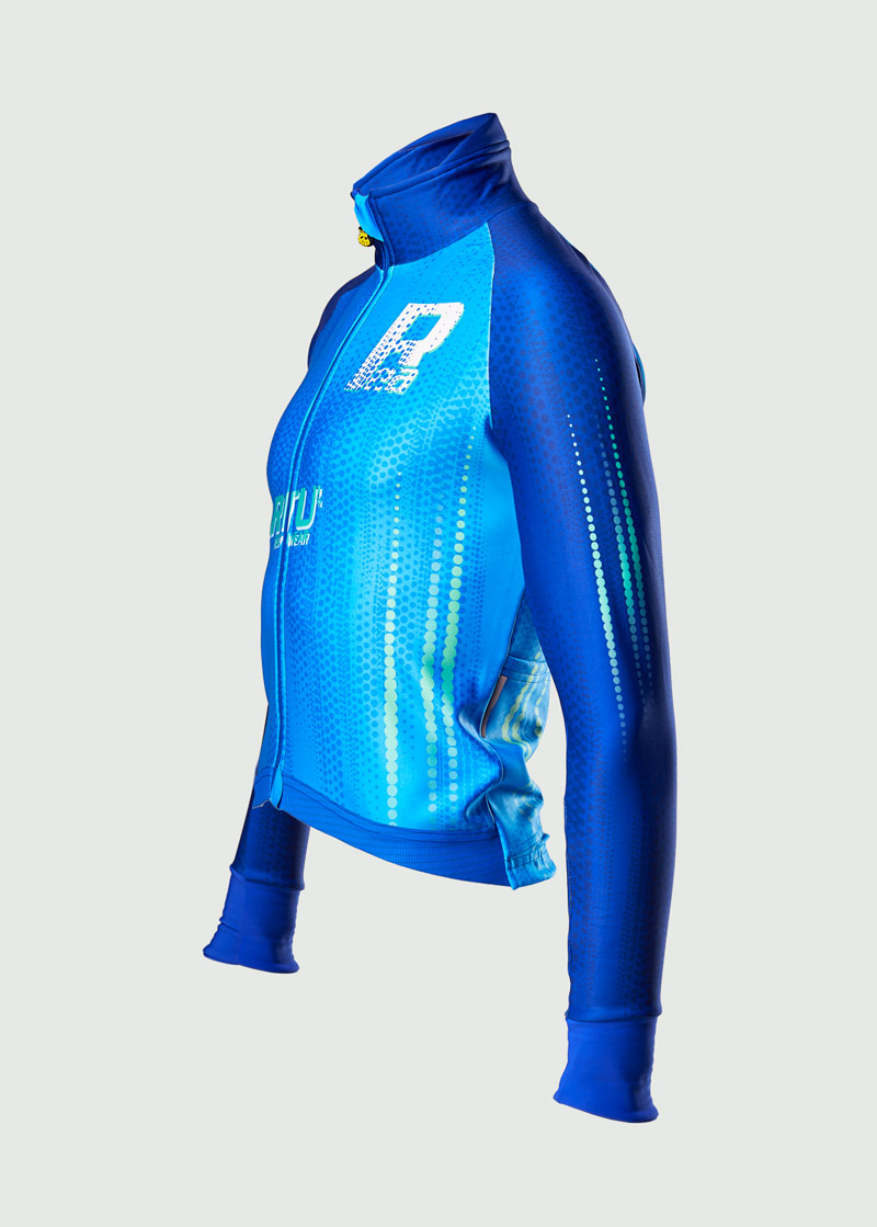 ReArtu Padded Blue Waves Event®Jacket 3